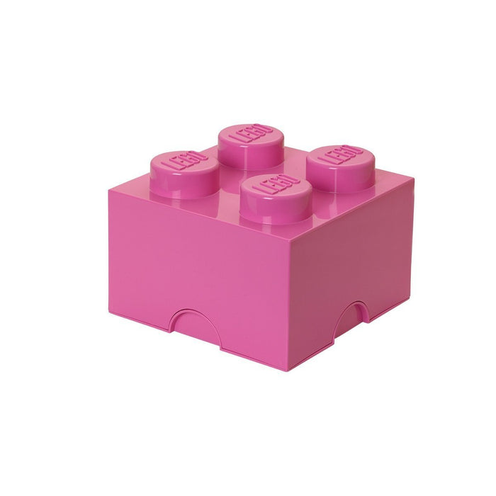 Lego Storage Brick 4 Medium Bright Pink