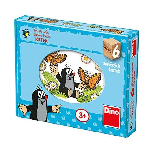 Dino Toys Dino Toys643123 Happy Little Mole Cubes Puzzle (6-Piece)