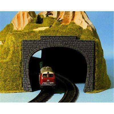 N Scale double-track tunnel portals, set of 2