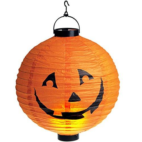Carnival Toys 6396 Light Pumpkin Paper Batteries Not Included - Play, 30 cm