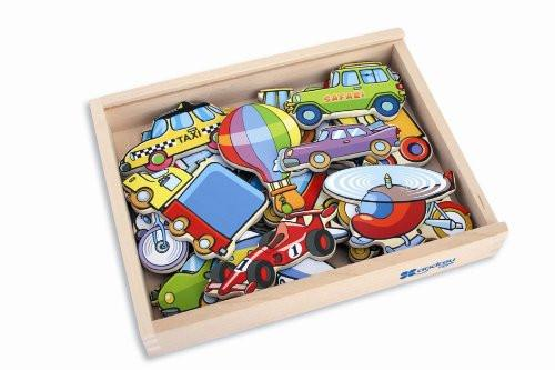 Andreu Toys 20.5 x 19 x 4.5 cm Twenty Magnetic Vehicles (Multi-Colour)