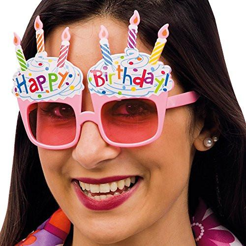 Carnival Toys 6056 Glasses Happy Birthday to a Card