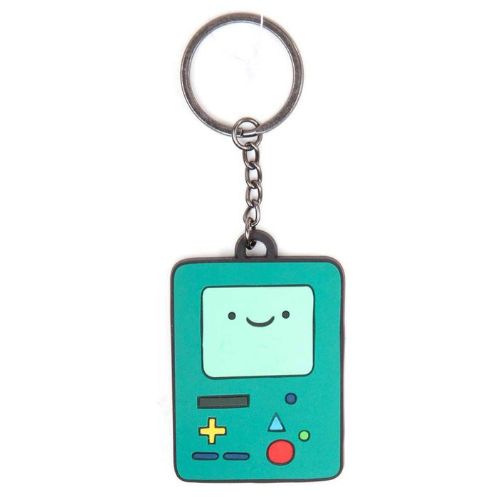"Adventure Time ""BMO Beemo"" Rubber Keychain (Green)"