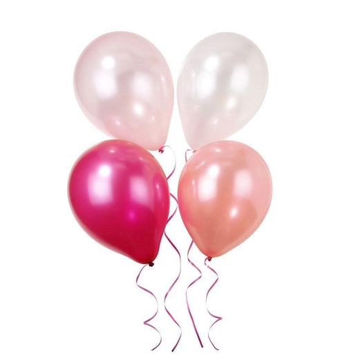 Talking Tables Pink-n-Mix Ballons, Pack of 12