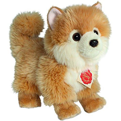 Hermann Teddy Collection 919223 22 cm Pomeranian Dog Standing Plush Toy
