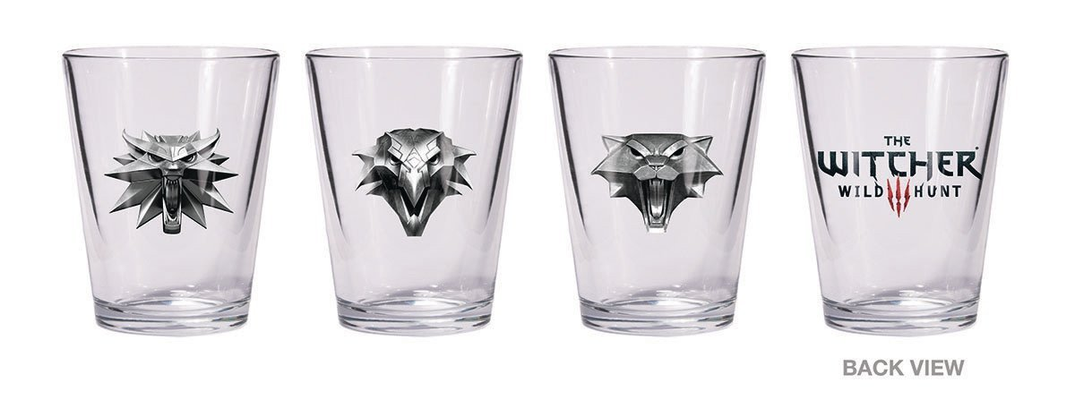 The Witcher 3000-128 Shot Glass Set