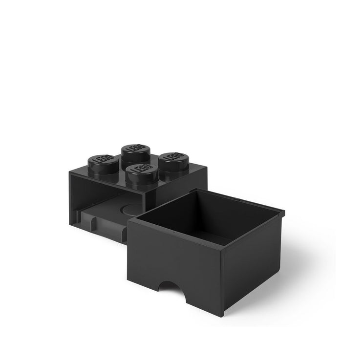 LEGO L4005BL.00 Black Storage Brick 4 with Drawers