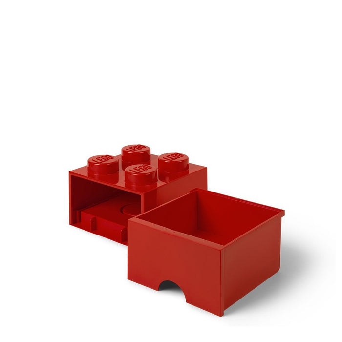 LEGO L4005R.00 Red Storage Brick 4 with Drawers