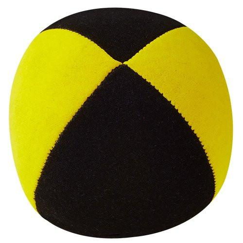 Henrys J05110 E01 - Beanbags SUPERIOR - Diameter 67 mm Black/Yellow