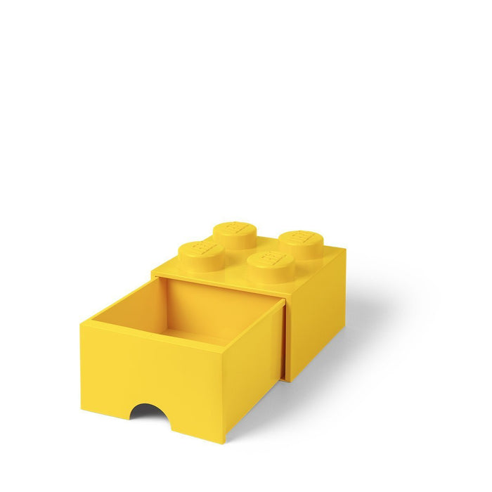 LEGO L4005Y.00 Yellow Storage Brick 4 with Drawers