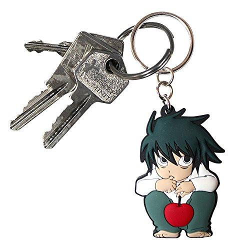 "ABYstyle ""L-Symbol"" Death Note Keychain (Multi-Colour)"