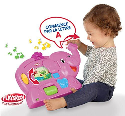 Playskool Early-Learning Toy - Elefun - First Words - Pink