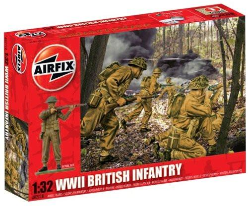 Airfix A02718 WWII British Infantry 1:32 Scale Series 2 Plastic Figures