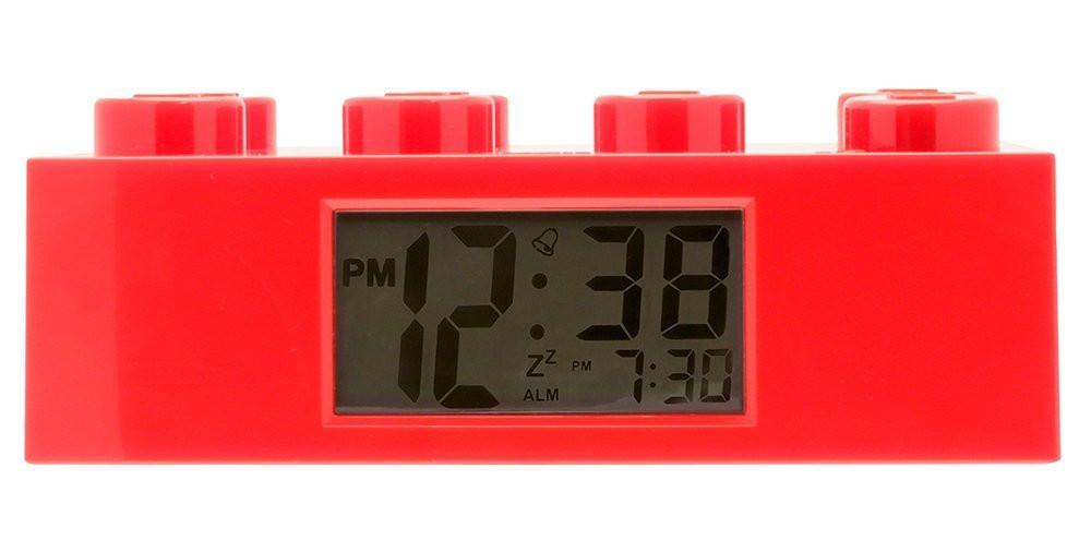 LEGO Brick Clock (Red)