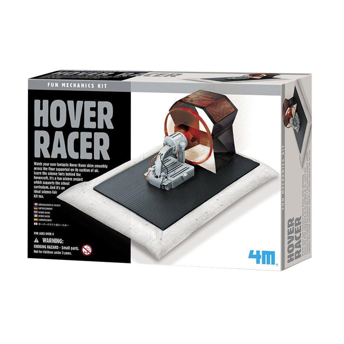 "4M ""Hover Racer"" Making Kit (Multi-Colour)"
