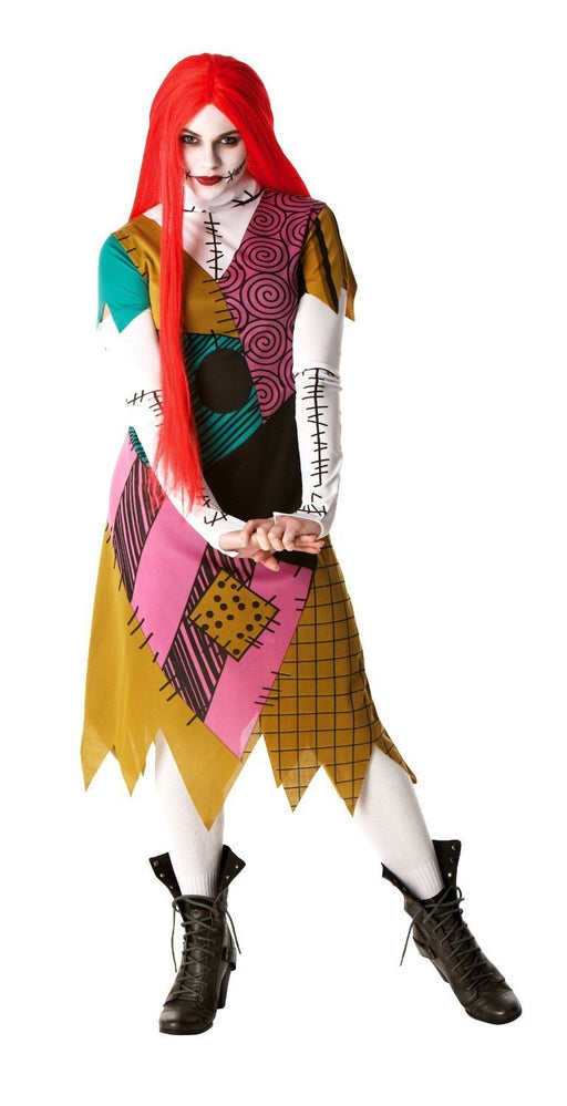 Rubie's Official Ladies Sally Nightmare Before Christmas, Adult Costume - Large