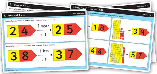 "Inspirational Classrooms 3122706 ""Place Value Work Card Ks1"" Educational Toy"