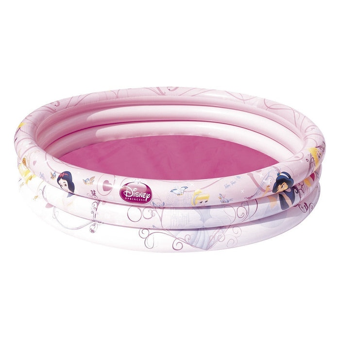 Bestway Disney Princess Three Ring Paddling Pool - Pink