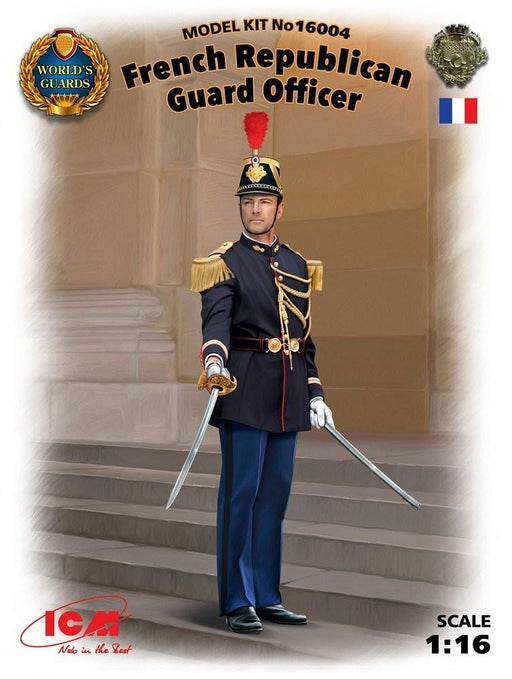 ICM 16004 - Model Kit French Republican Guard Officer