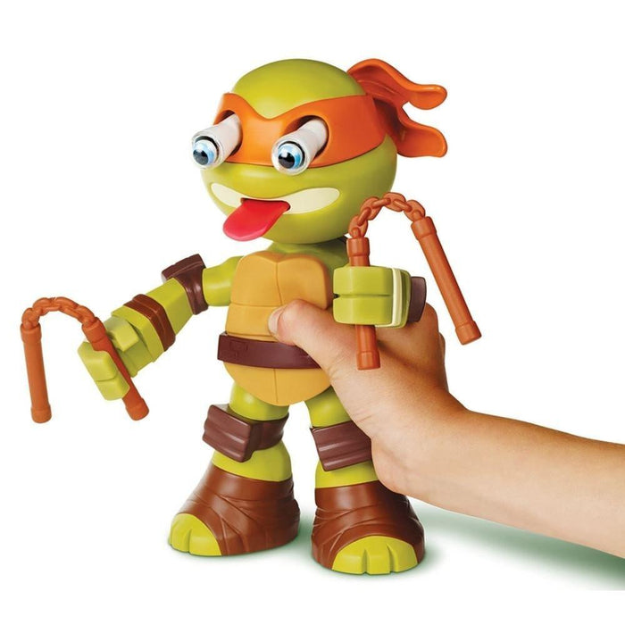 "Teenage Mutant Ninja Turtles ""Half-Shell Heroes Squeeze Em's Mikey"" Toy"