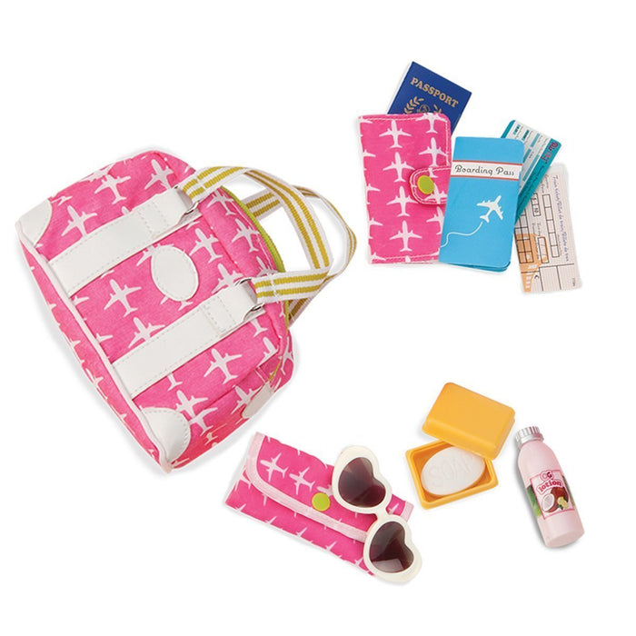 Our Generation Bon Voyage Travel Accessory Set