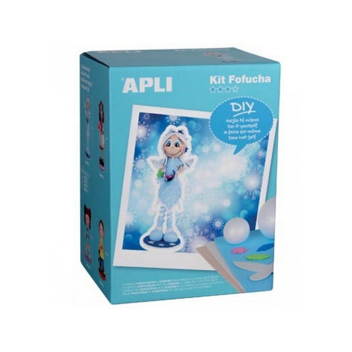 Apli Apli14288 Winter Fairy Foam Doll Kit