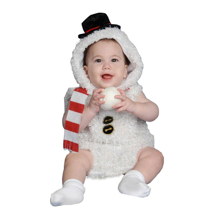 Dress up America Plush Snow Costume Set for Baby (24 Months)