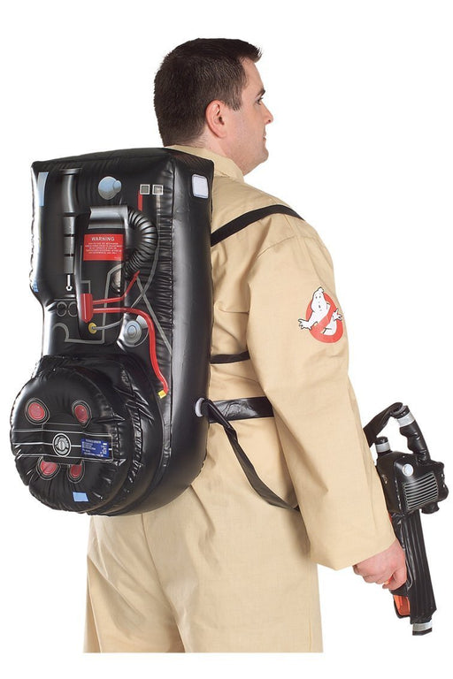 Rubie's Official Ghostbusters Inflatable Proton Pack Adult Fancy Dress Costume Plus Size