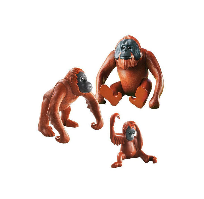 Playmobil City Life Zoo Orangutan Family
