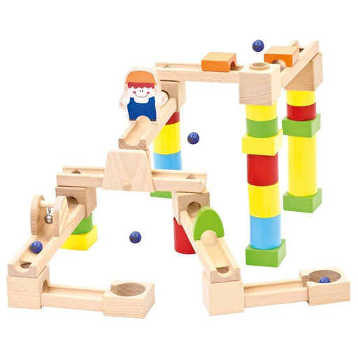 BINO 82071 Marble Run Game (40-Piece)