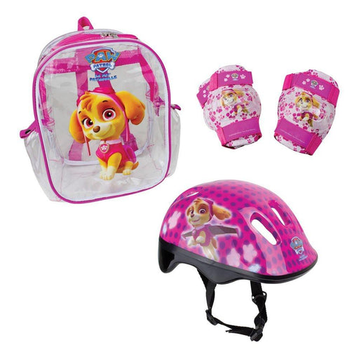 Paw Patrol DARP-OPAW004-F Skye Helmet with Knee, Elbow Pad and Bag Protection Pack
