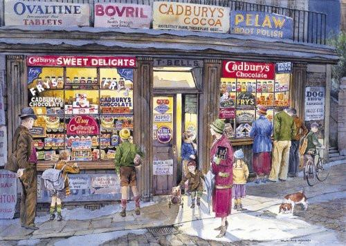 Gibsons Corner Shop  Jigsaw Puzzle (500 Piece)