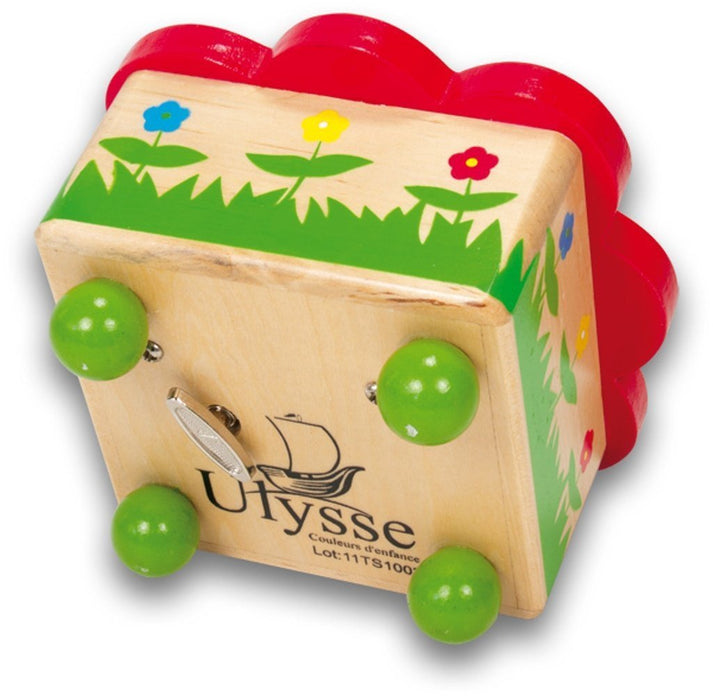 Ulysse Ladybug Music Box (Red)