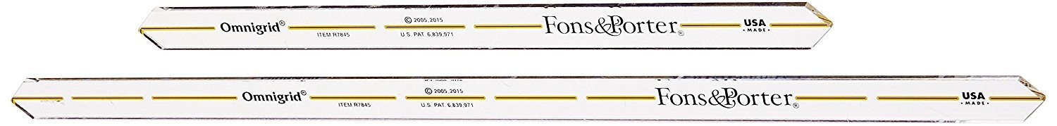 Dritz Fons and Porter Quarter Inch Seam Markers, Pack of 2