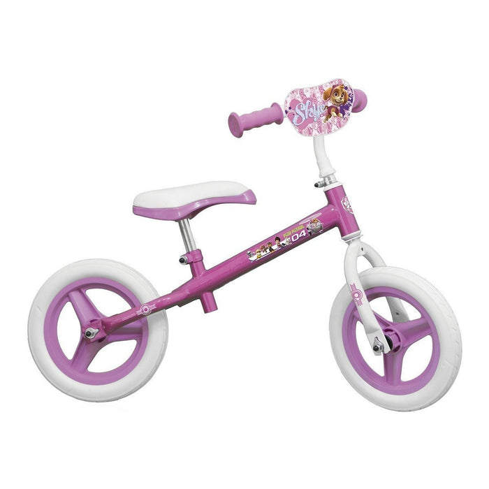 "paw patrol OPAW043-F ""Skye"" Metal Balance Bike with 10-Inch Wheels"