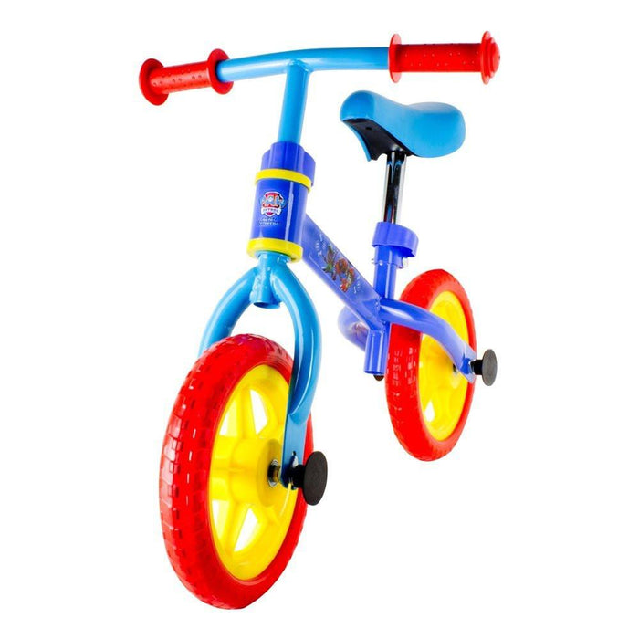 paw patrol OPAW043 Metal Balance Bike with 10-Inch Wheels