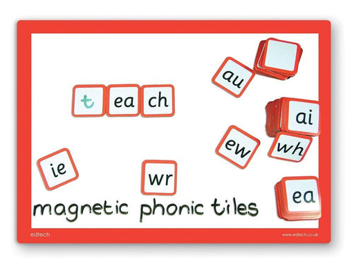 "Inspirational Classrooms 3005405 ""Magnetic Phonics/Letters Tiles"" Educational Toy (Pack of 88)"