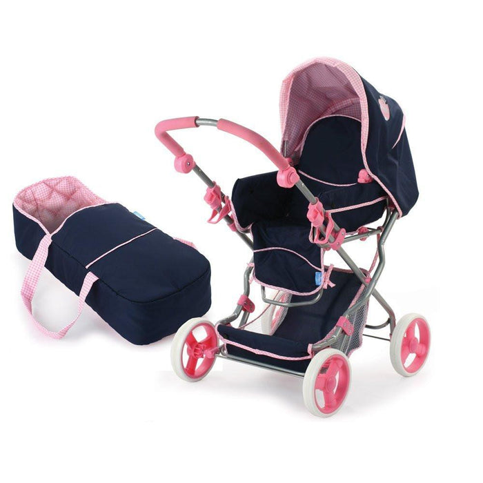 Hauck Julia D86615 Combination Doll's Pram, Classic Navy