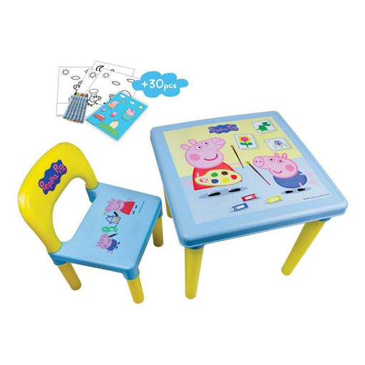 "Peppa Pig DARP-CPEP016 ""My First Activity Table and Chair Set"" Creative Activity Kit (30-Piece)"