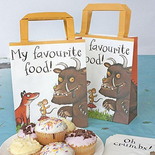 Talking Tables The Gruffalo Party Bags Pack of 8, Paper, Multi-Colour