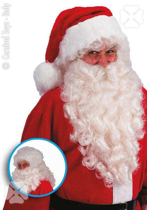 Carnival Toys 2369 - Santa Claus Father Christmas Wig and Beard