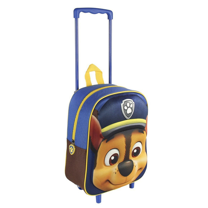 Paw Patrol 2100001606 Chase Travel Trolley with 31 cm 3D Junior Backpack