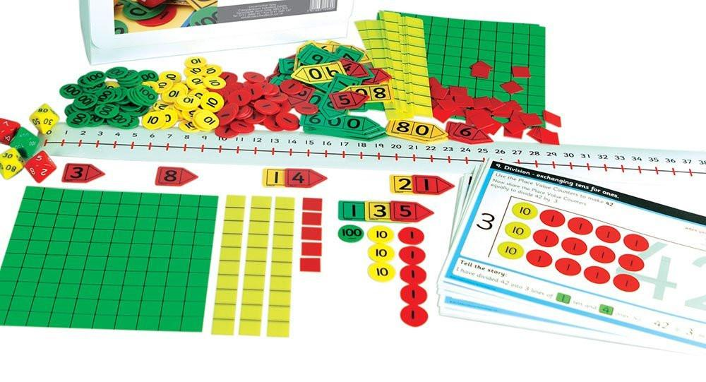 "Inspirational Classrooms 3124809 ""Place Value Kit"" Educational Toy"
