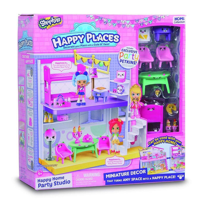 Shopkins Bedroom And Dining Room Studio