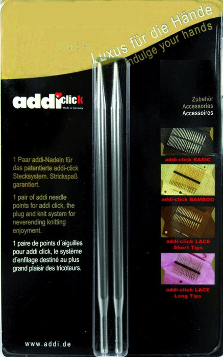 Addi Click 3.75 mm Long Lace Needle Tips