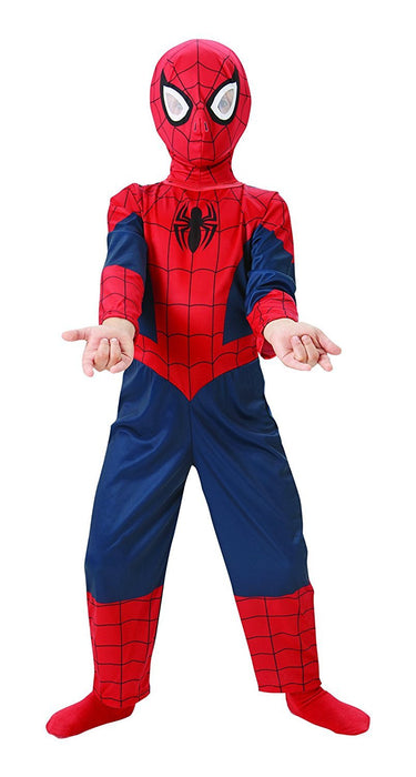 Rubie's Official Ultimate Spiderman Classic, Children Costume - Large