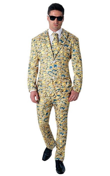 Rubie's Official Men's Minion Icon Suit Crazy Costume - Standard Size