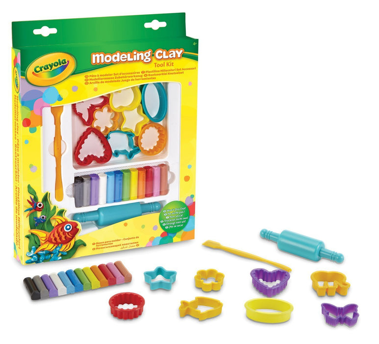 Crayola Modeling Clay Mini Tool Kit
