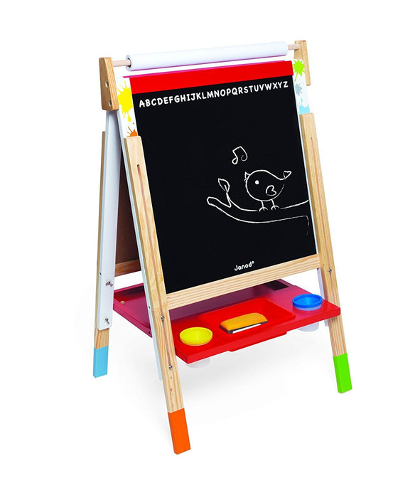 Janod J09611 Splash Adjustable Easel