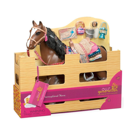 Our Generation Horse Doll (Brown)